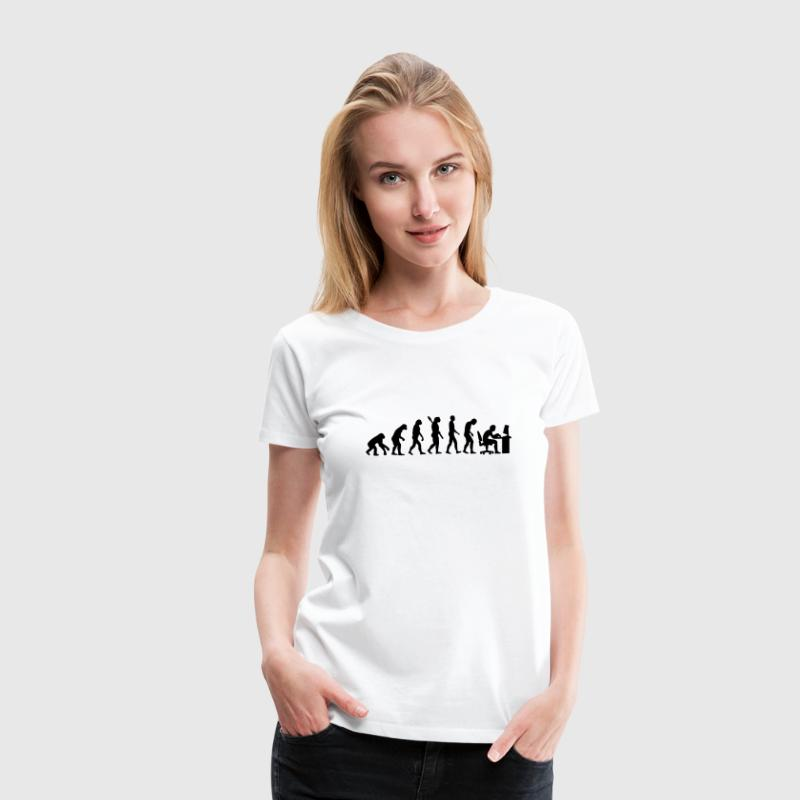 Evolution computer - Women's Premium T-Shirt