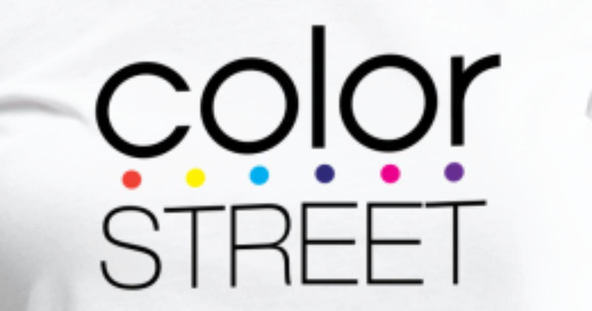 Color Street Block Color Logo By Spreadshirt