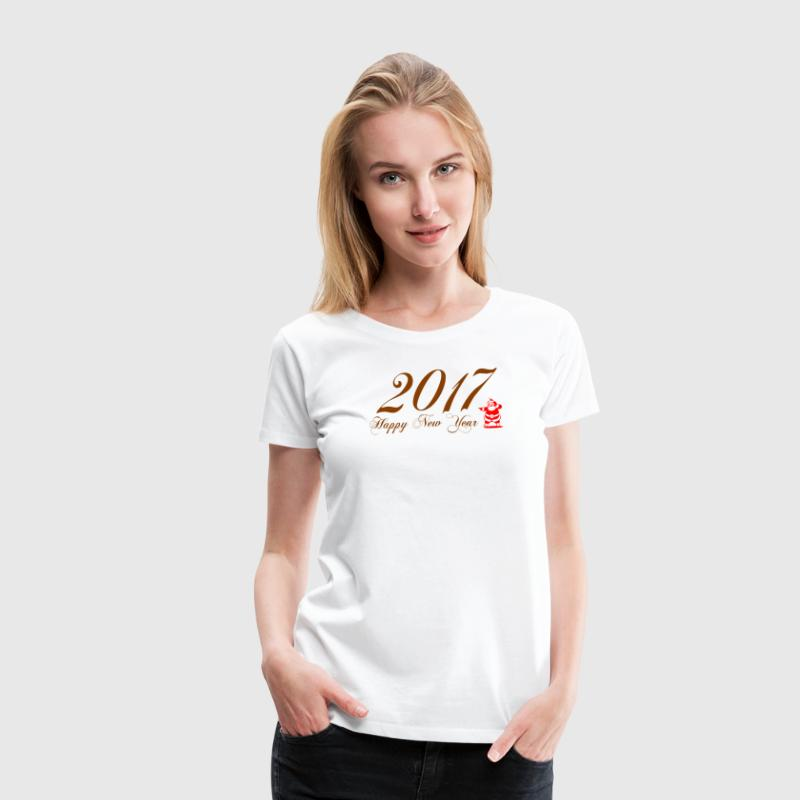 happy-new-year-2017 - Women's Premium T-Shirt