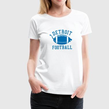 Detroit Football Classic Fun - Women's Premium T-Shirt