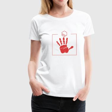 Hand Touch The Touch - Women's Premium T-Shirt