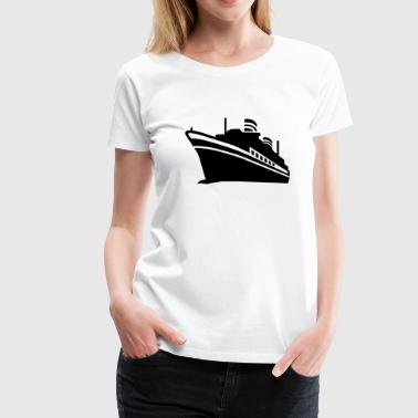 Cruise ship - Women's Premium T-Shirt