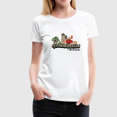 Classic Irish Hills Brooklyn Michigan - Women's Premium T-Shirt