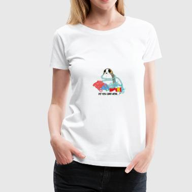 Do you care now - Porg - Women's Premium T-Shirt