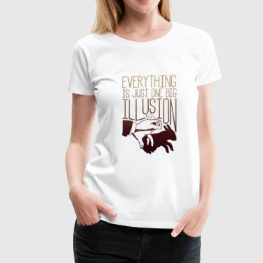 One Big Illusion - Women's Premium T-Shirt