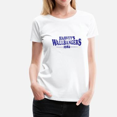 Vintage Milwaukee Apparel Harvey Wallbanger's Milwaukee 1982 - Women's Premium T-Shirt