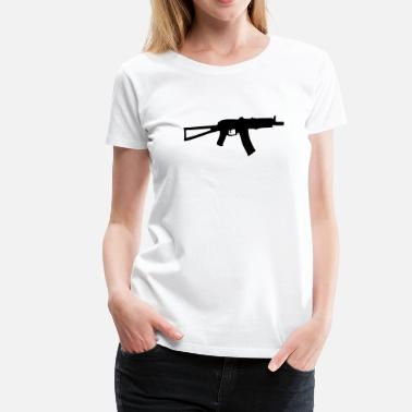 Air Rifle Shooting Uzi rifle gun Pistol Revolver - Women's Premium T-Shirt