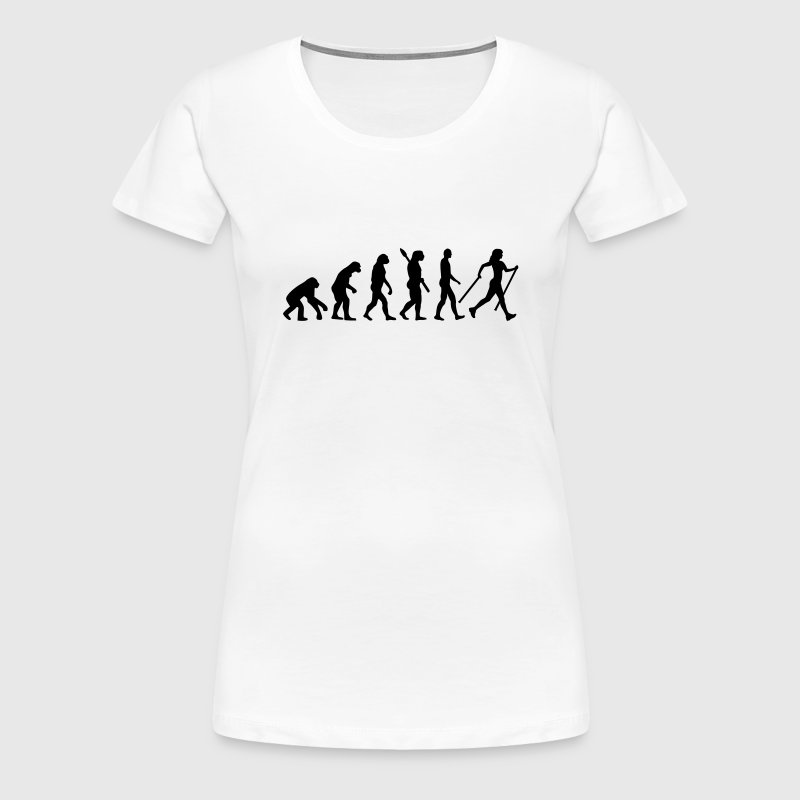 Evolution Nordic Walking - Women's Premium T-Shirt