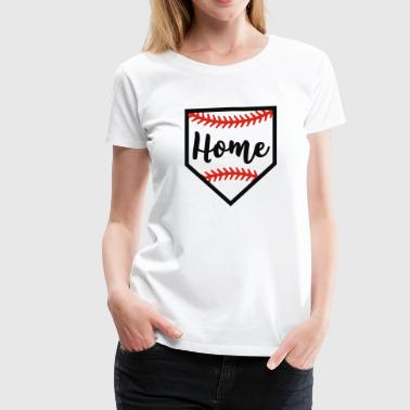 Baseball home plate - Women's Premium T-Shirt