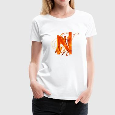 Fire Brand Branded N - Women's Premium T-Shirt