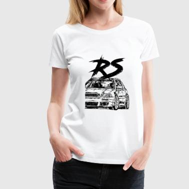 rs4 b5 avant - Women's Premium T-Shirt