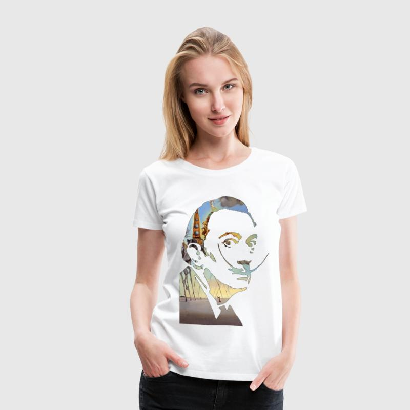 DALI PAINTING - Women's Premium T-Shirt