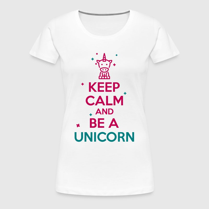 keep calm unicorn - Women's Premium T-Shirt
