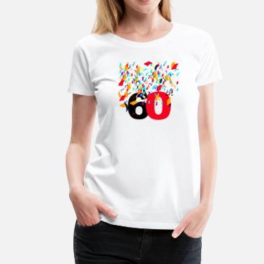 60th Birthday CelebratingAnniversaryBirthday T Shirt
