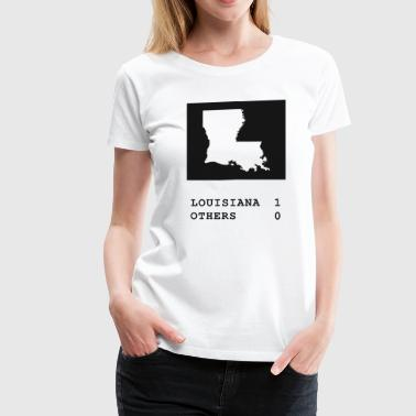 Louisiana always wins - Women's Premium T-Shirt