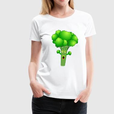Awesome Broccoli - Women's Premium T-Shirt