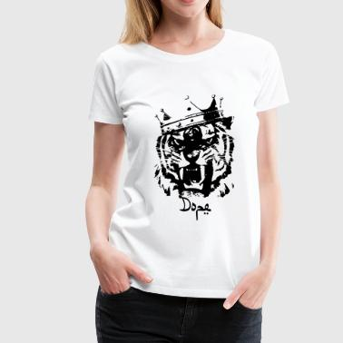 Dope tiger - Women's Premium T-Shirt