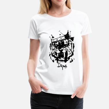 The Dope King Dope tiger - Women's Premium T-Shirt