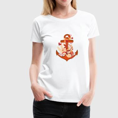 Womens Anchor Anchor - Women's Premium T-Shirt