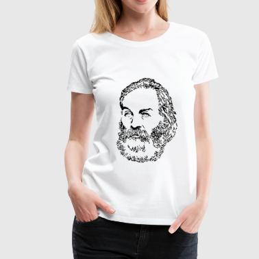 Walt Whitman - Women's Premium T-Shirt