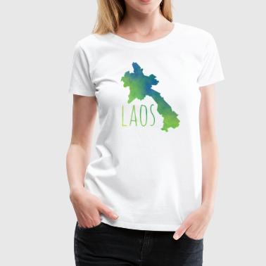 Laos - Women's Premium T-Shirt