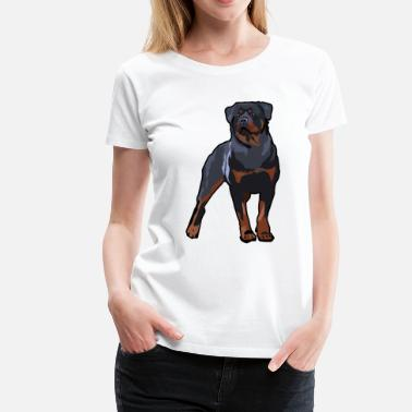 Shop Womens Rottweiler T Shirts Online Spreadshirt