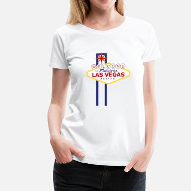 Welcome To Las Vegas Welcome to Las Vegas - Women's Premium T-Shirt