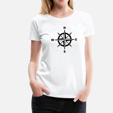 Compass Rose Compass - Women's Premium T-Shirt
