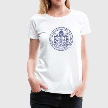 San Diego City Seal - Women's Premium T-Shirt