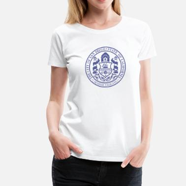 Cute San Diego Tops San Diego City Seal - Women's Premium T-Shirt