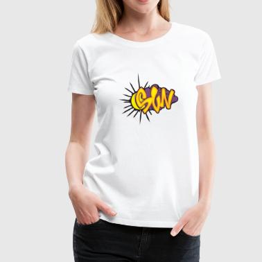 Custom Graffiti Sun Graffiti - Women's Premium T-Shirt