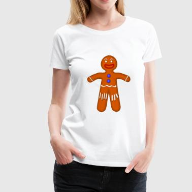 Gingerbread Cookie Cookie Gingerbread - Women's Premium T-Shirt