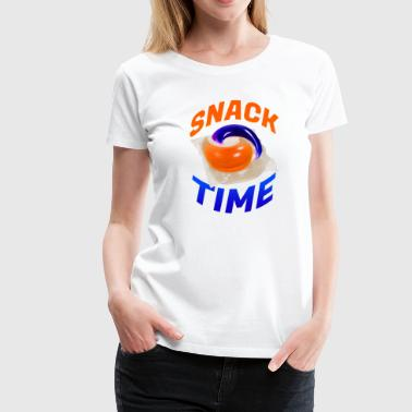 Snacks SNACK TIME - Women's Premium T-Shirt
