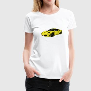 Supercar - Women's Premium T-Shirt