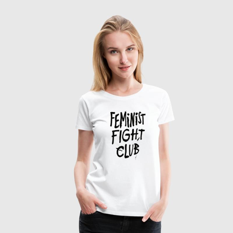 Feminist Fight Club - Women's Premium T-Shirt