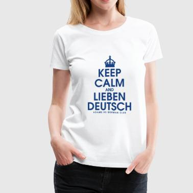 ADAMS HS GERMAN CLUB - Women's Premium T-Shirt