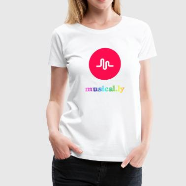 Musical.ly Rainbow - Women's Premium T-Shirt