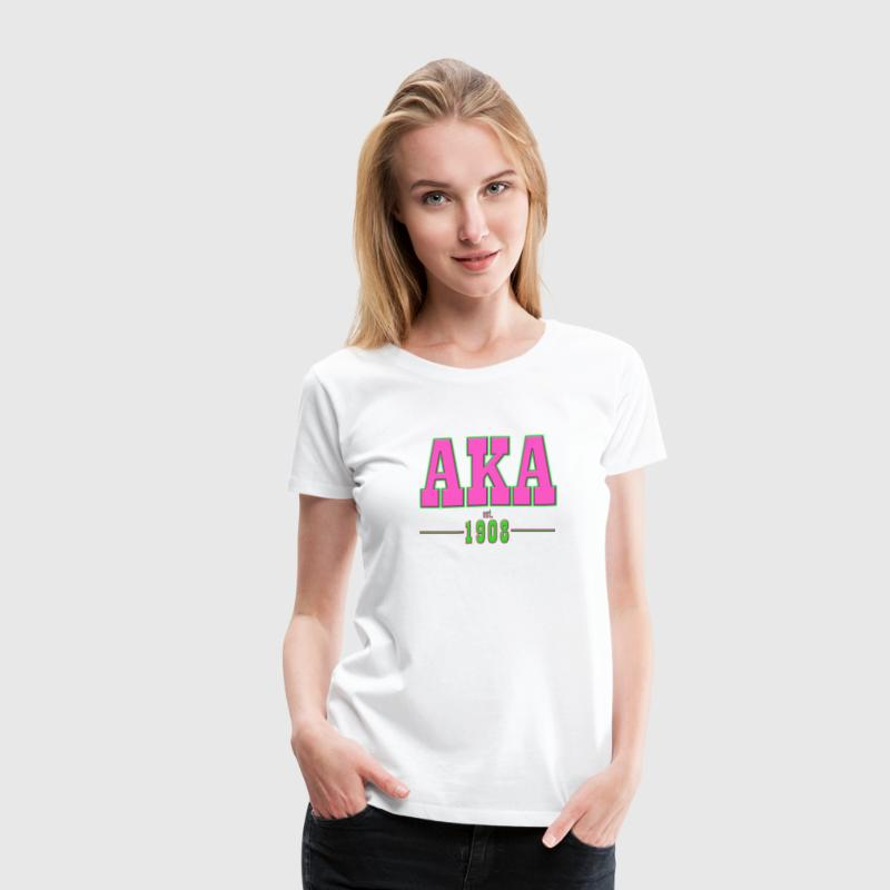 AKA TRADITIONAL - Women's Premium T-Shirt