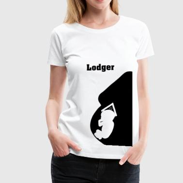 Pregnancy - Baby - Lodger - Pregnancy Reveal - Women's Premium T-Shirt