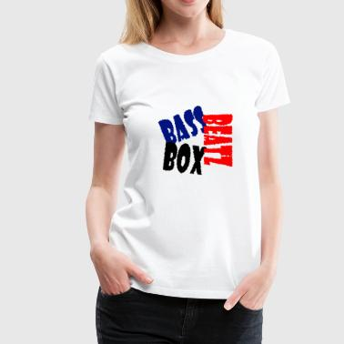 Bass Box Beatz - Women's Premium T-Shirt