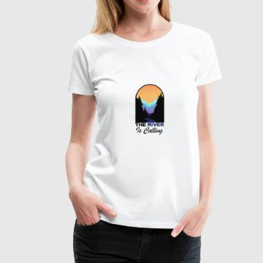 Rafts Rafting - Women's Premium T-Shirt