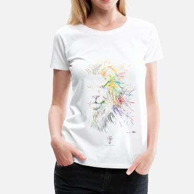 Jordan The Lion LION - Women's Premium T-Shirt