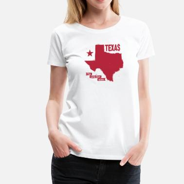 Texas Art Texas - Women's Premium T-Shirt
