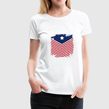 Confederate Flag - Women's Premium T-Shirt