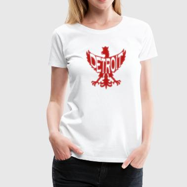 Detroit Polish Poland Eagle - Women's Premium T-Shirt
