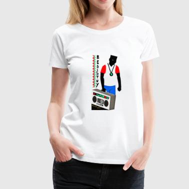 radio - Women's Premium T-Shirt