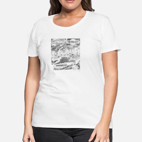 2d2ef1507df0ec Detroit Detroit Vintage Style Women s Premium T-Shirt