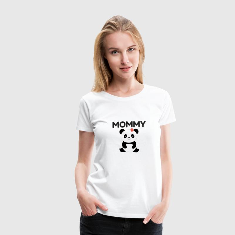 panda family - Women's Premium T-Shirt