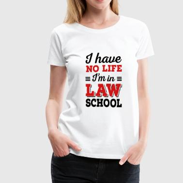 law school - Women's Premium T-Shirt