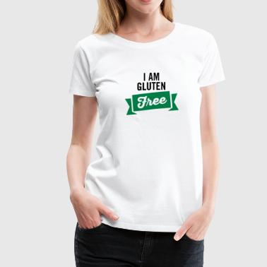 I Am Gluten Free - Women's Premium T-Shirt